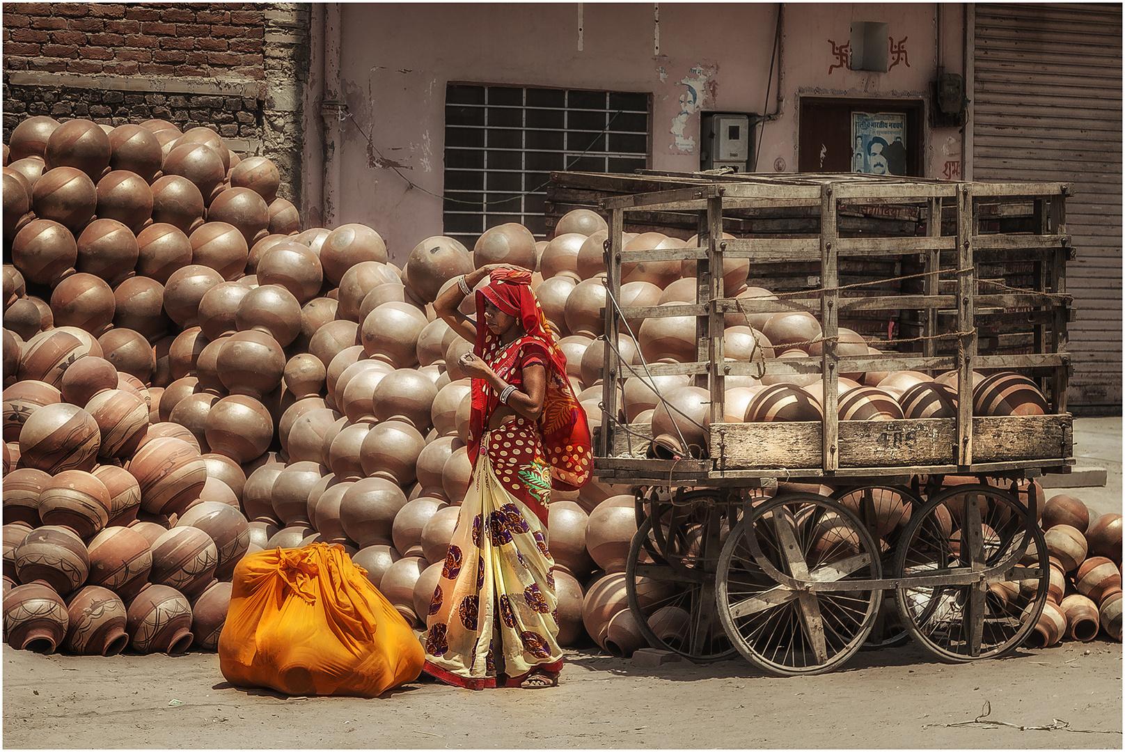 ... Leben in Jaipur 14 ...