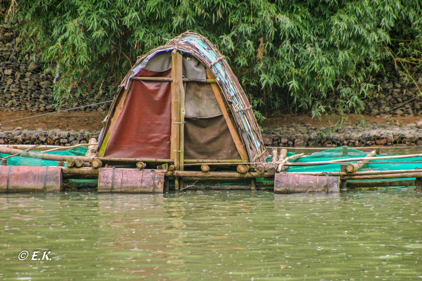 Leben, Wohnen und Arbeiten am Fluss