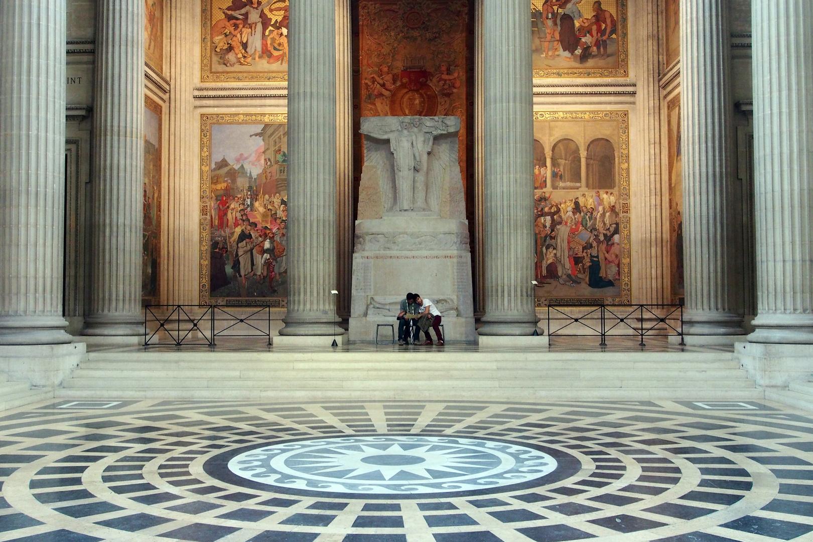 Lebende im Panthéon