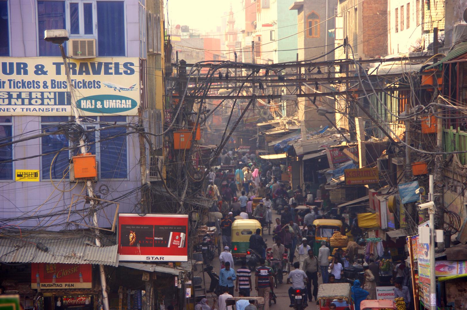Lebendiges Delhi