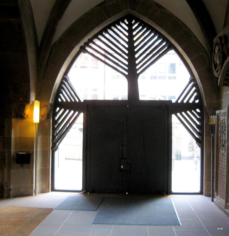 Lebensbaumtor der Kilianskirche Heilbronn (Südliches Portal)