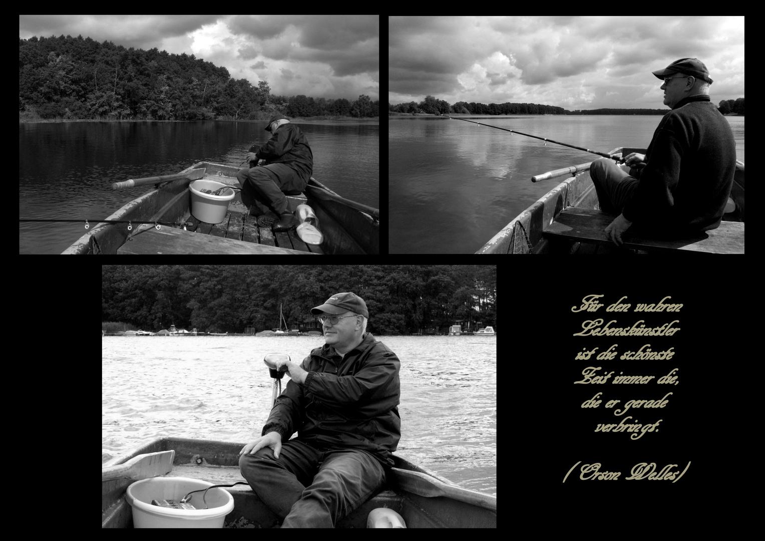 Lebenskünstler - Der Angler