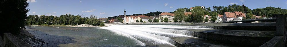 Lechfälle in Landsberg a.L.