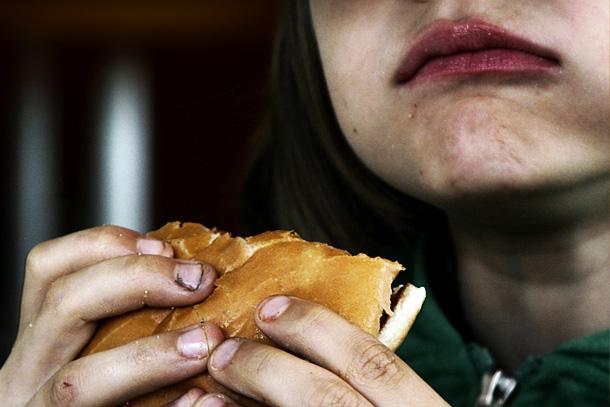 lecker Hamburger
