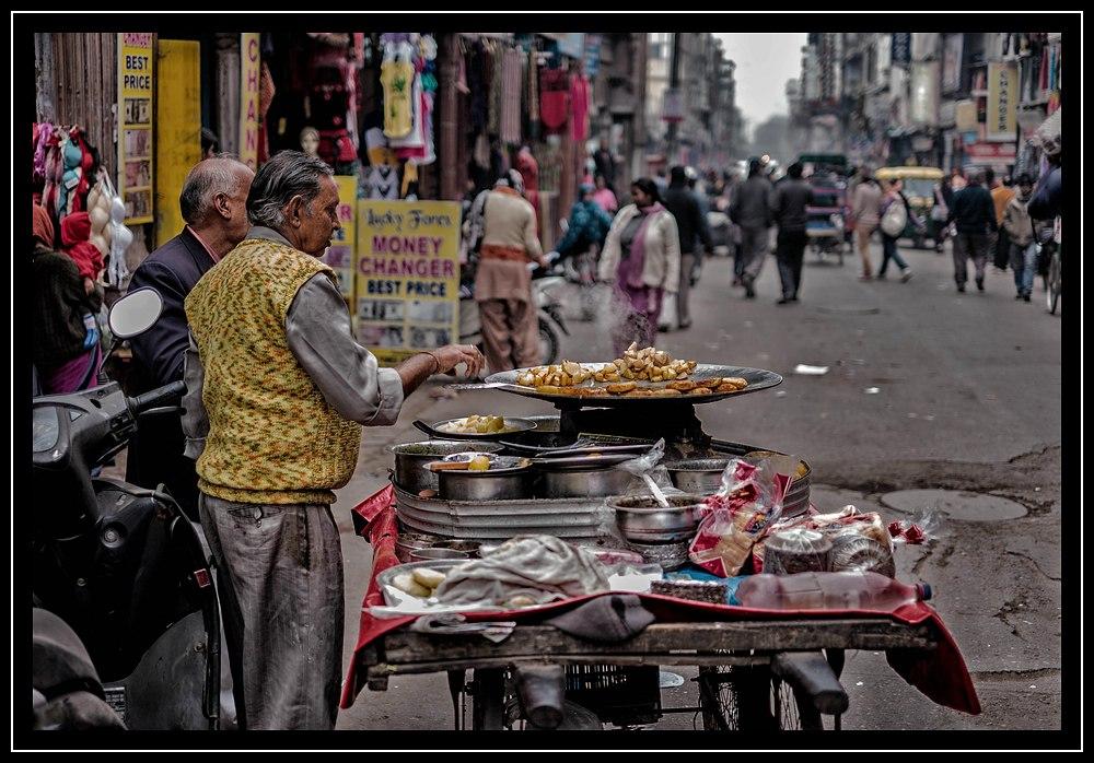 Leckeres in Delhi