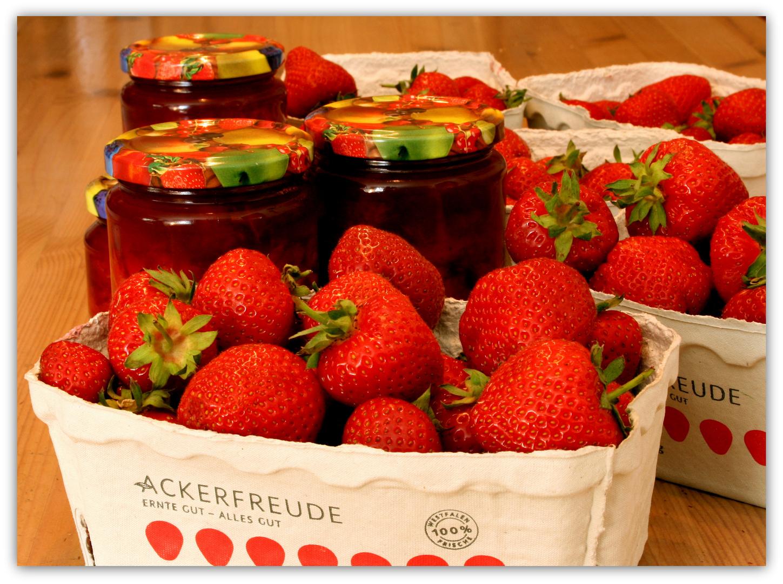 ...lecker...lecker.... ( fast ) zu schade für Marmelade :-)