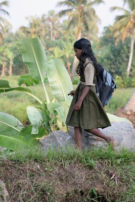 L'écolière des backwaters