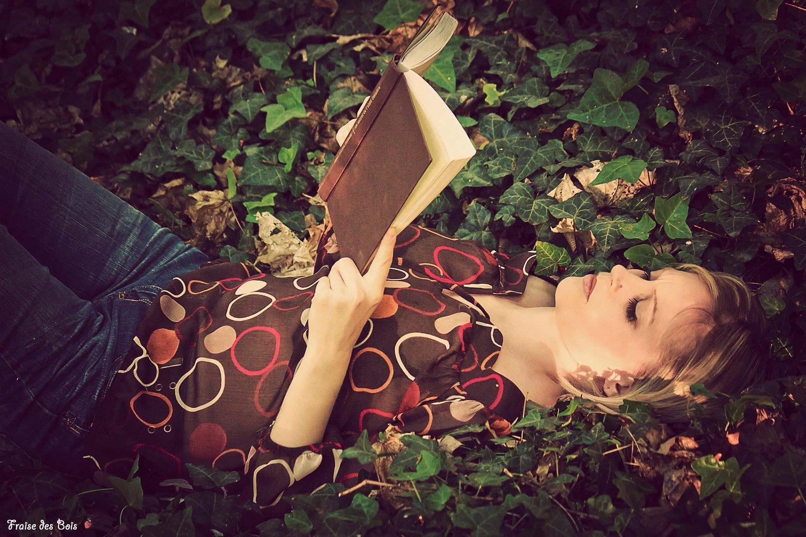 Lectrice des bois