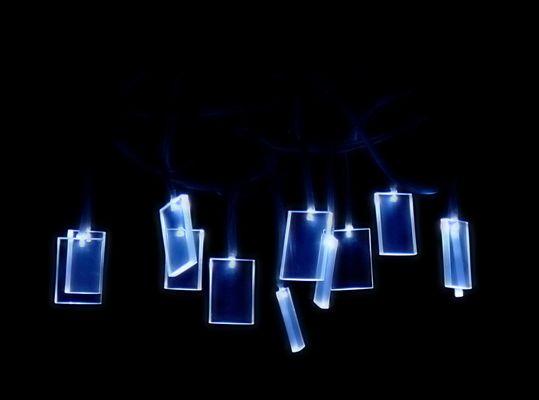 LED Leuchter weich