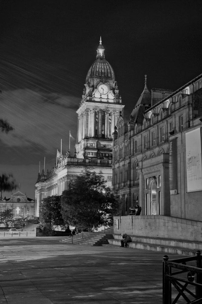 Leeds @ night