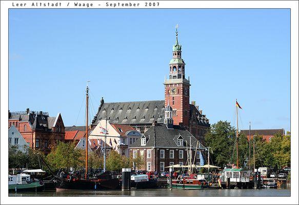 Leer Altstadt // Waage Hafen
