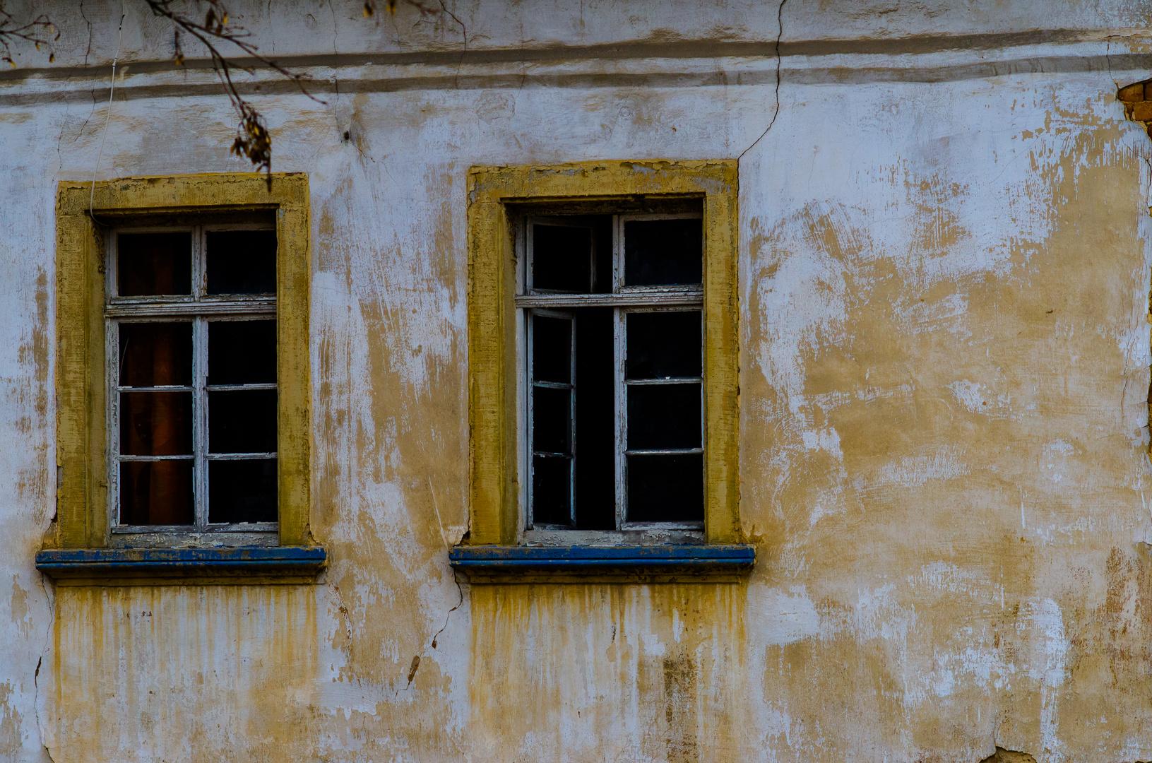 Leere Fenster