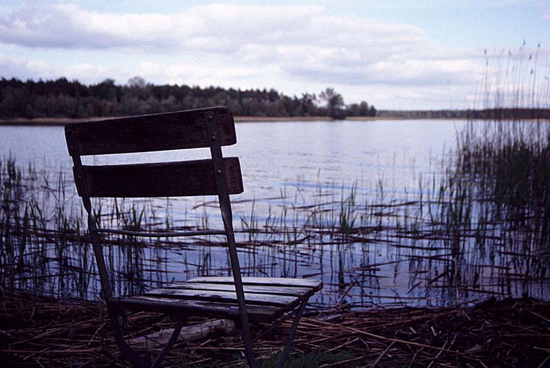 Leerer Stuhl, leere Gedanken...