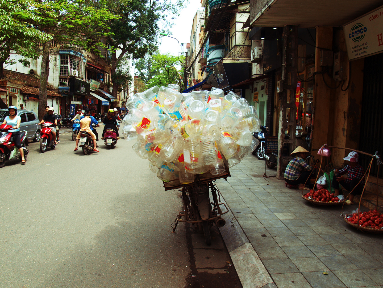 Leerguttransport auf Hanoiart