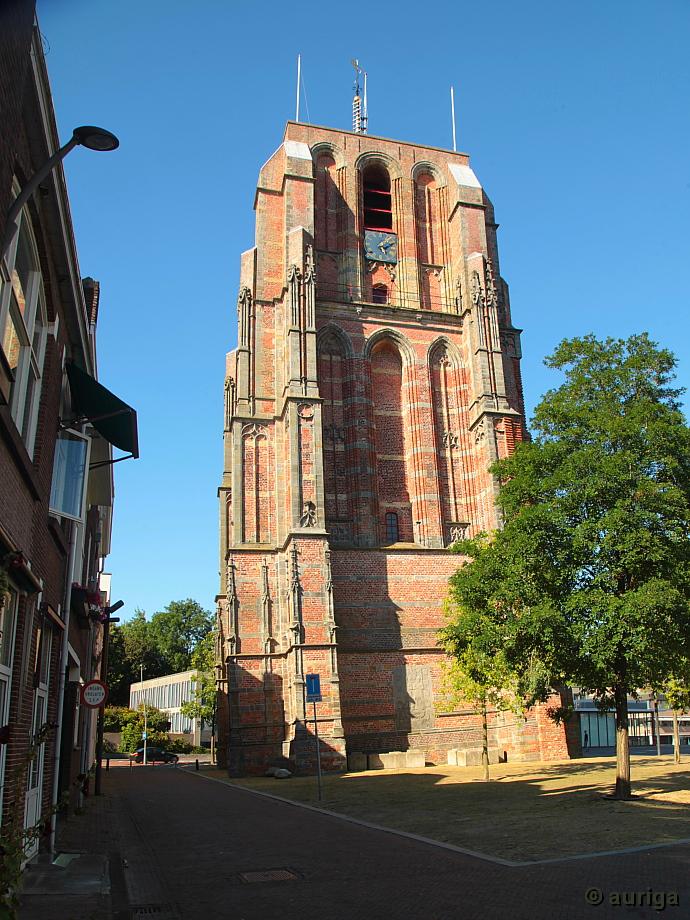 "Leeuwarden: Der schiefe Turm ""Oldehove"""
