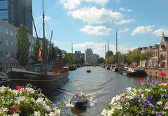 Leeuwarden (NL), Museumshafen