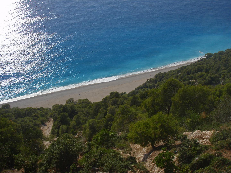 lefkada beaches I, greece 2008