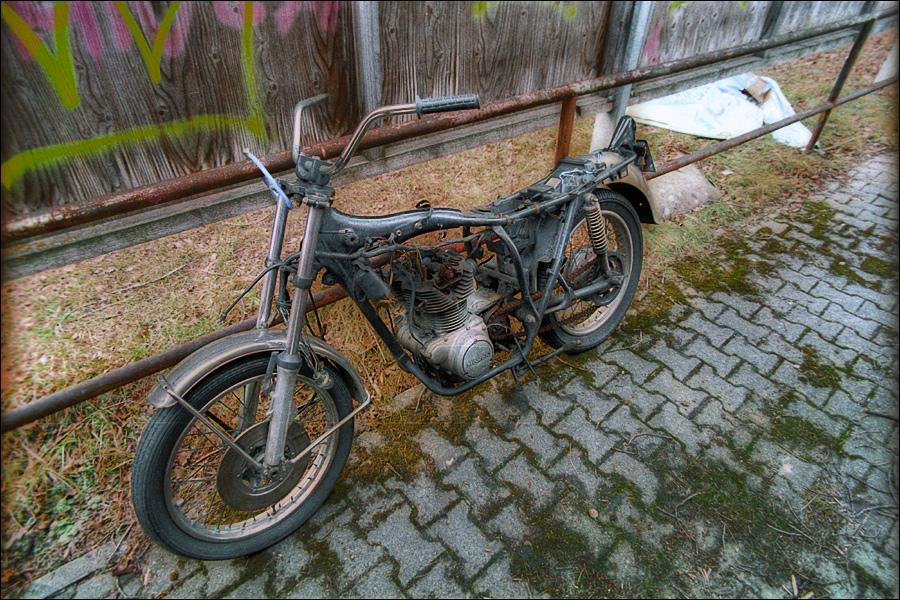 Legendäres Motorrad