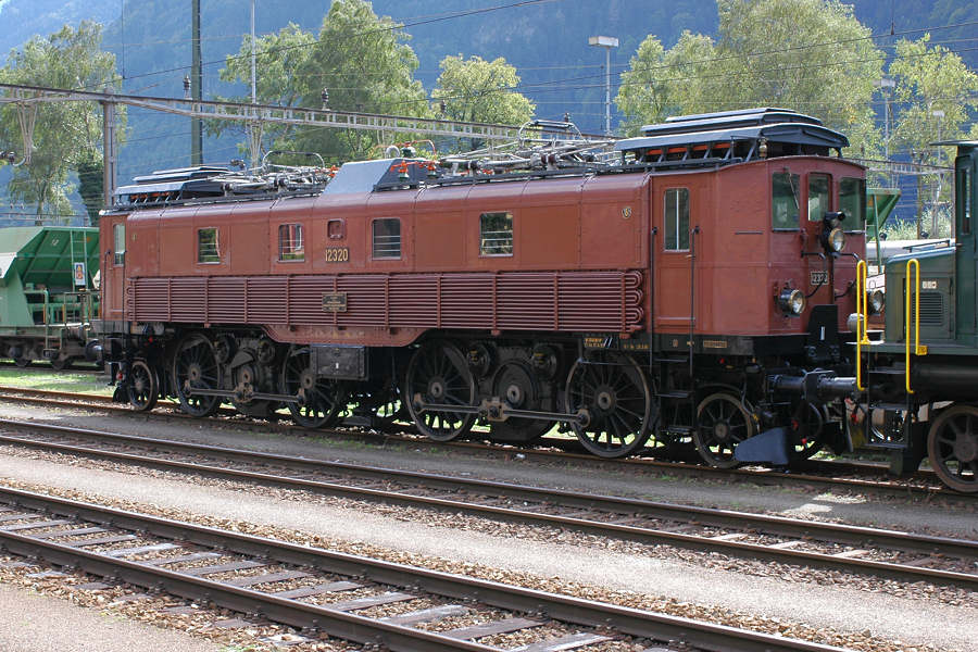 Legende am Gotthard - Be 4/6 12320