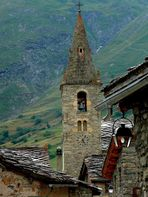 L'église de Bonneval sur Arc