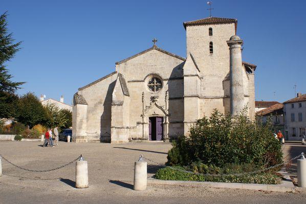 L'église de Coulon (79)