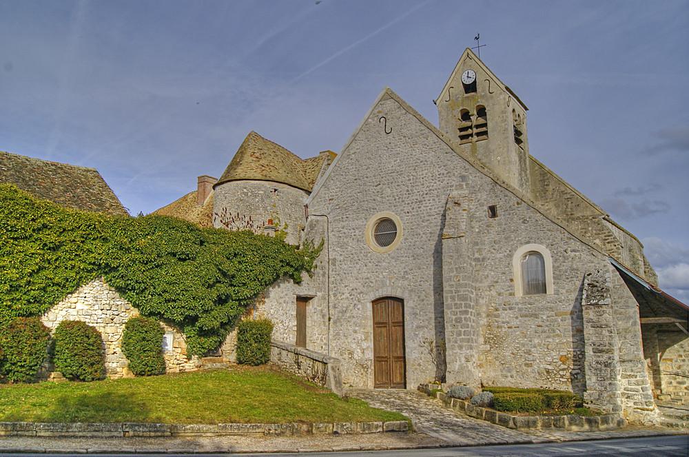 L'église de Dannemois, Essonne