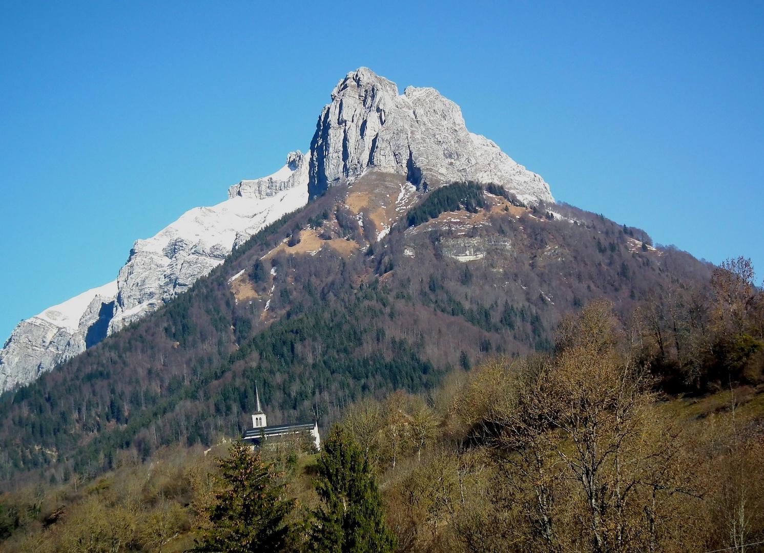 L'église de Jarsy dans le massif des Bauges