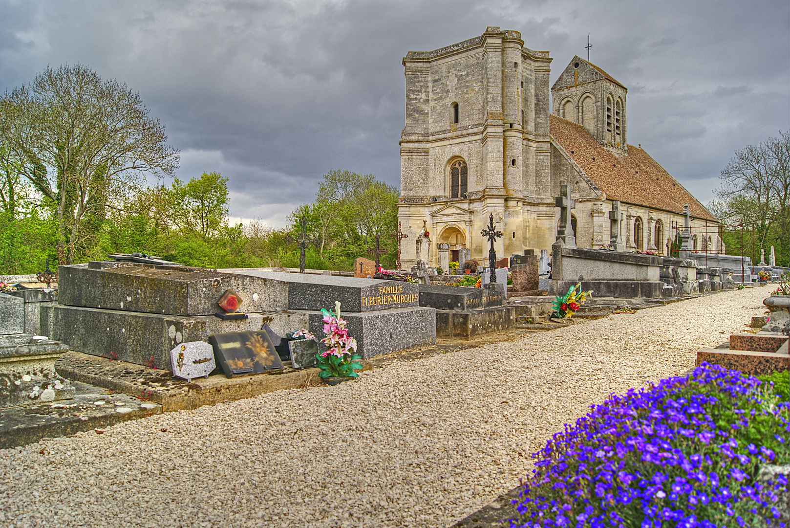 l'église de Nucourt; Véxin