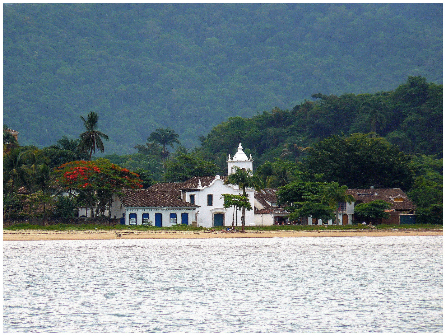 l'église de Paraty