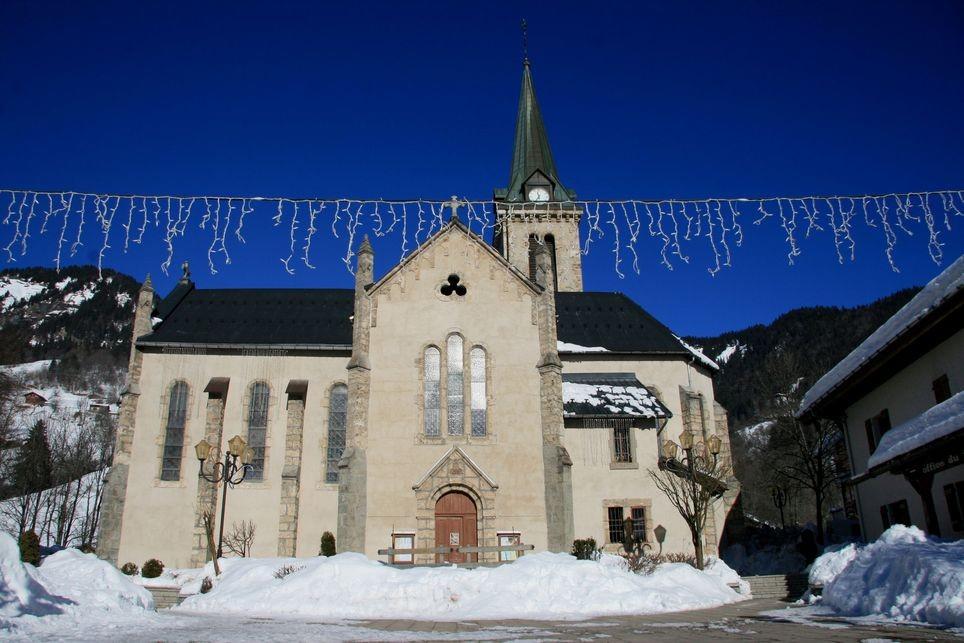 L'Eglise de Praz sur Arly (Haute-Savoie)