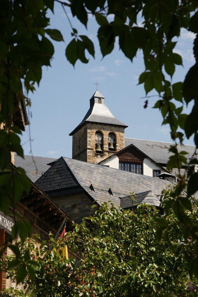 L'église de Sallente