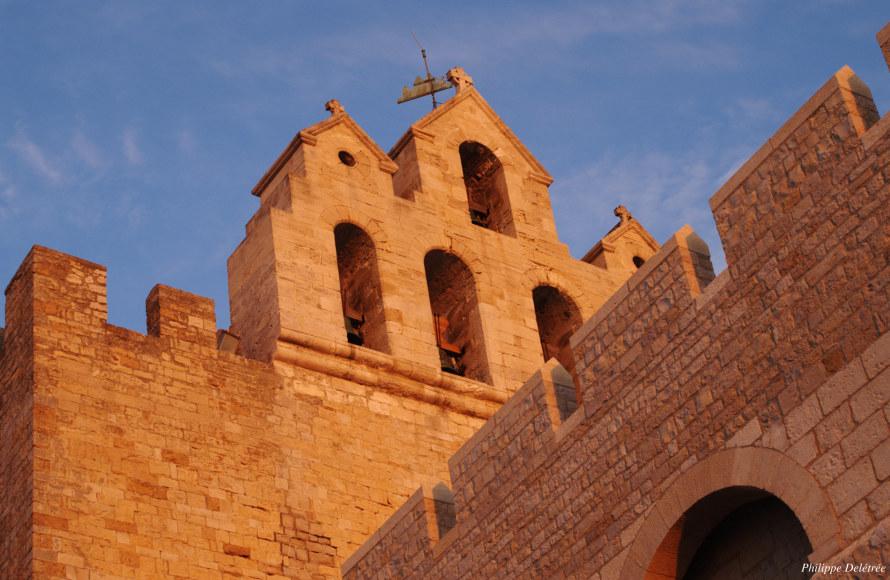 L'église fortifiée des Saintes Maries de la Mer