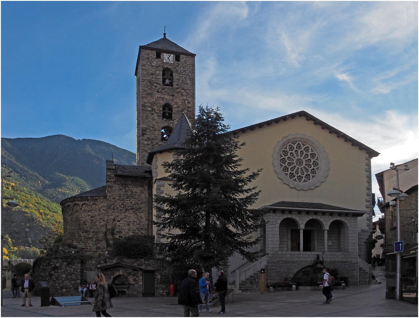 L'Eglise Saint-Estève de Andorre-la-Vieille