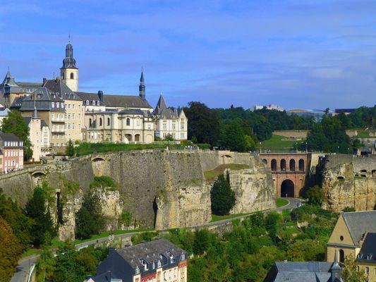 L'église Saint-Michel à Luxembourg