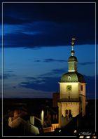 L'église St MAXIME de Thionville, vue de mon balcon