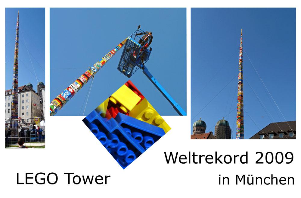 LEGO Tower - Weltrekord 2009 in München
