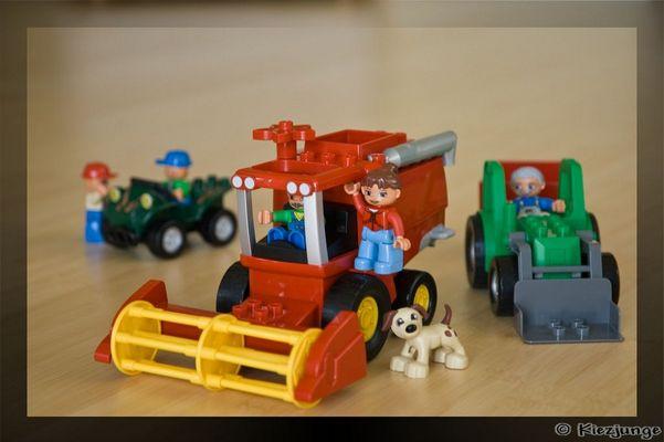LEGO-Traktor