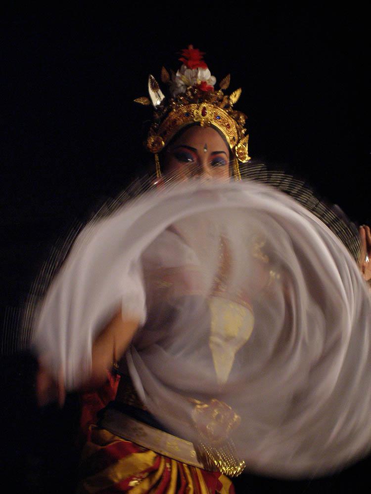 Legong Tänzerin - Ubud, Bali