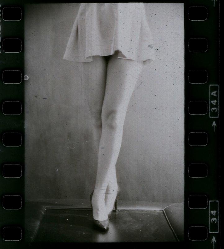 Legs on film