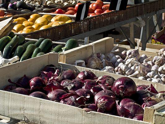 Légumes d'été  --  Sommergemüse