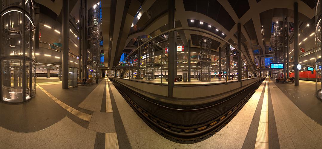 Lehrter Bahnhof ganz unten