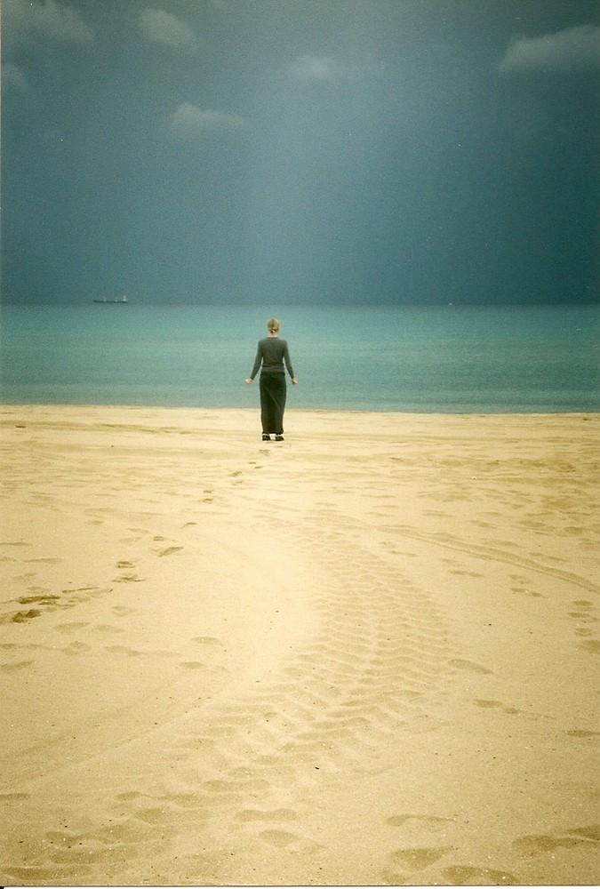 lei e il mare....