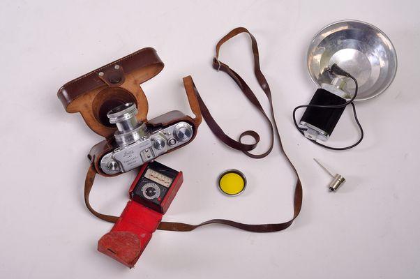 Leica von 1953, noch heute eine tolle und funktionierende Kamera