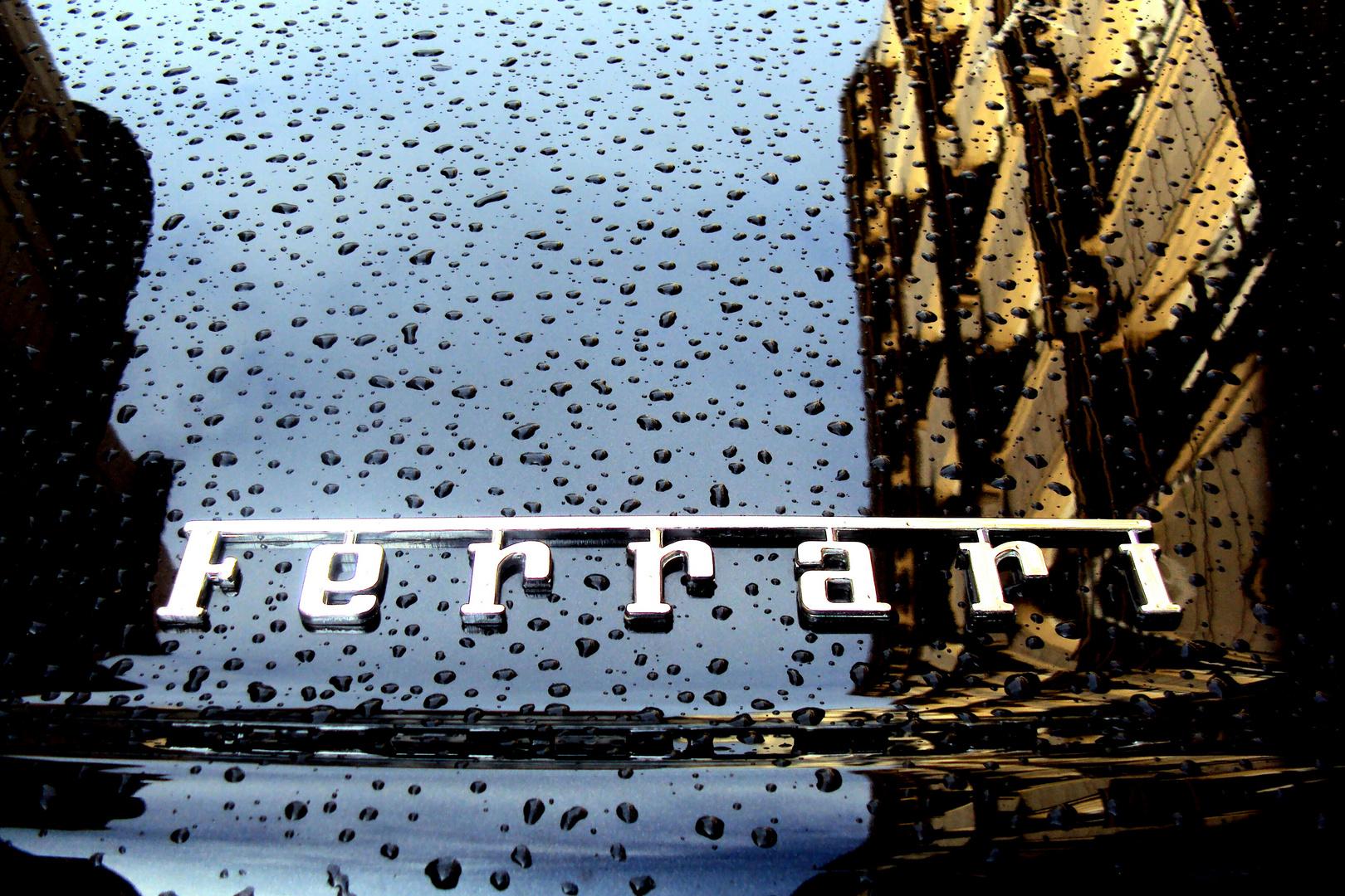 Leichter Regen in Prag
