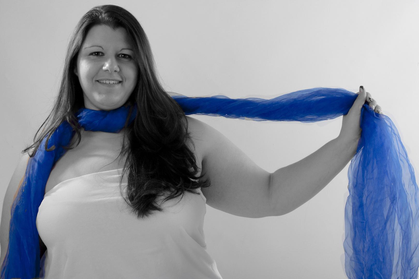 Leichtigkeit in blau