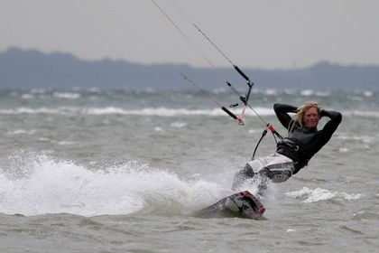 Kite-Surfen Kite-Boarden