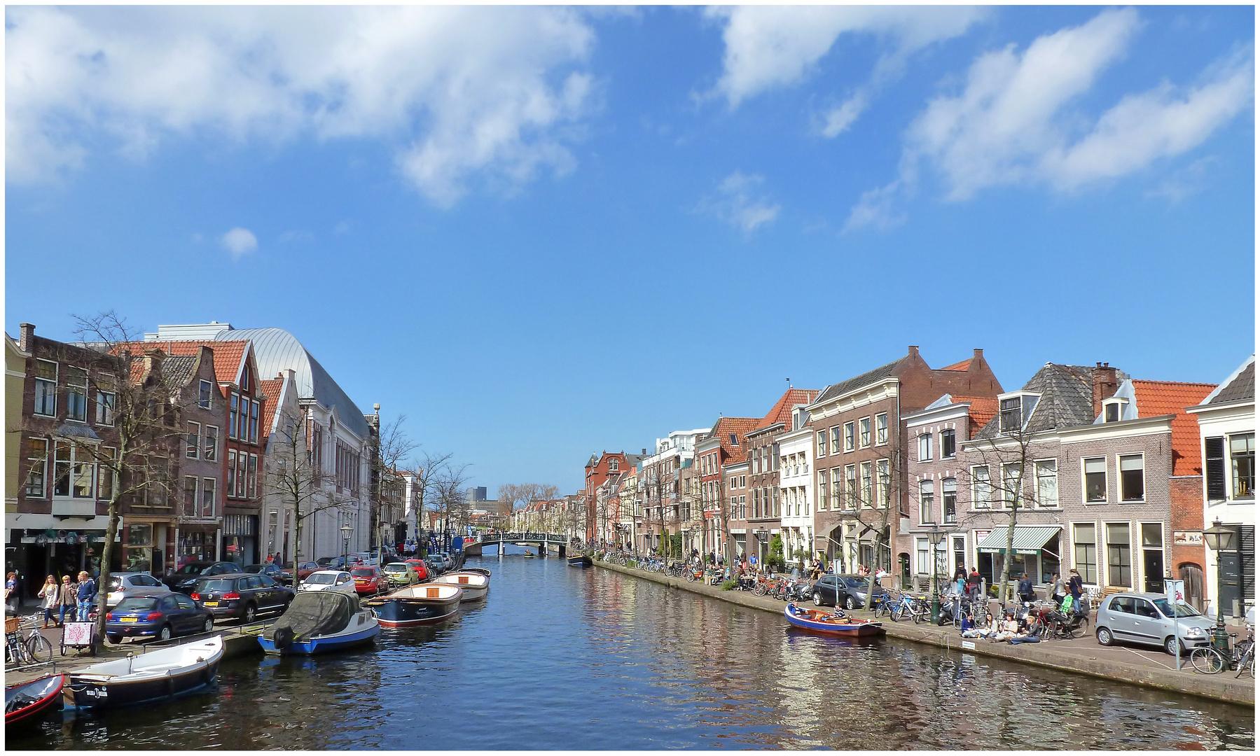 Leiden im April