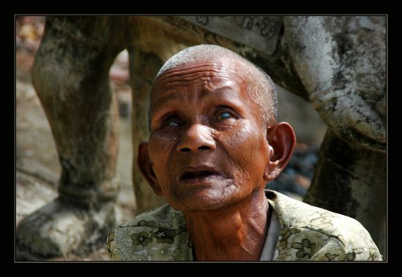 Leidtragender der Roten Khmer