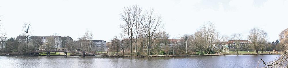 Leinpfad-Panorama