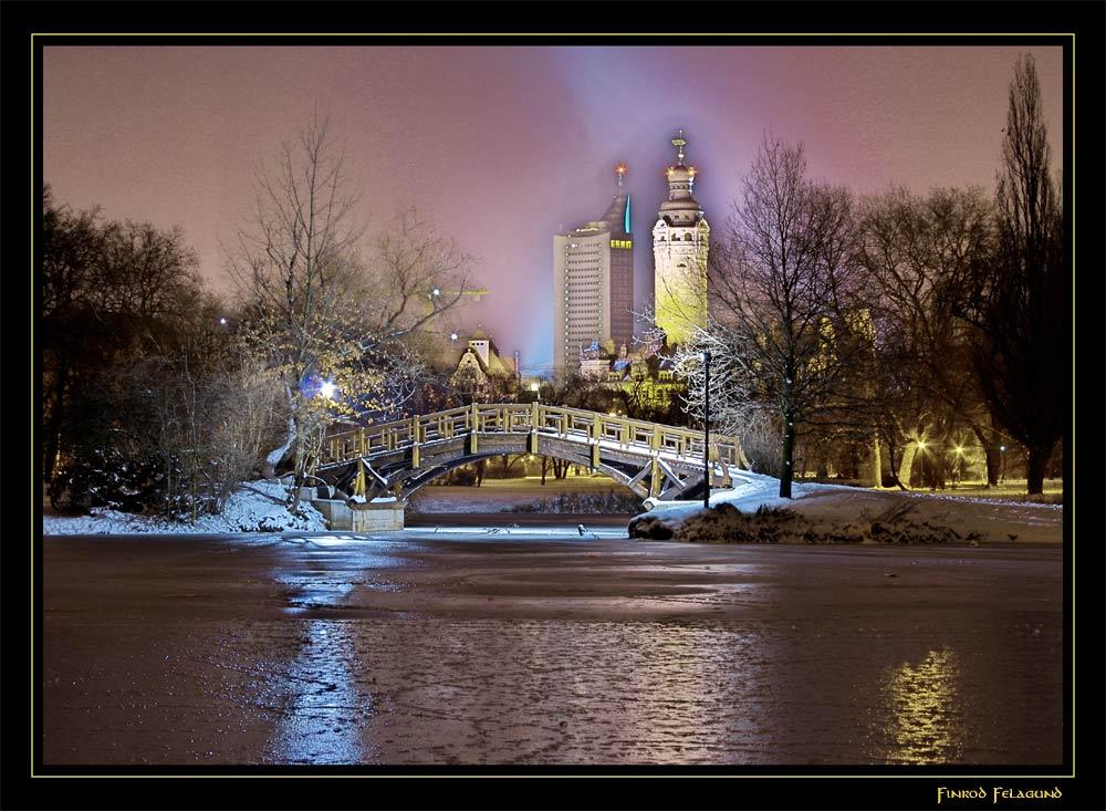 Leipzig am Vorabend zum Fest